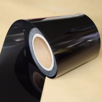 Quality Electrical Insulation Black PET Film For Medical Devices / Producing Adhesive Tape wholesale