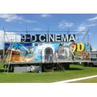 Quality Safe Special Mobile 9D XD Theatre With Sunproof And Waterproof Truck wholesale