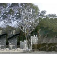 Quality Mirror Polished Garden Ornaments Sculptures , Metal Yard Sculptures Stainless Steel wholesale