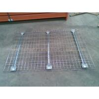 Quality Customized Industrial Pallet Racks Wire Mesh Decking / Wire Decks For Metal Shelving wholesale
