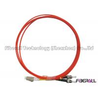 Quality Duplex LC To ST Fiber Patch Cord With Milled Pieces ST Fiber Connector Multimode wholesale