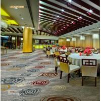Quality Restaurant Fire Resistant Carpet 80% New Zealand Wool 20% Nylon wholesale