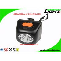Quality Cordless Led Mining Cap Lights Head Lamp 1W With High Low Beam Lighting Mode wholesale
