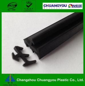 Quality 90 shore A Door Extruded Rubber Door Seals / Silicone Sealing Strip Dustproof wholesale