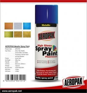 Quality Car Paint 400ml Tin Spray Paint  Metallic Color Spray Paint wholesale