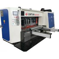 Cheap High Speed Flexo Printing Slotting / Die Cutting Machine Three Color for sale
