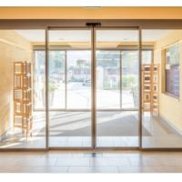Quality Capacity 120KG Beam 150mm Commercial Automatic Sliding Doors with secure locking device wholesale