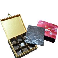 Cheap cardboard chocolate  packaging box for sale