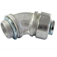 Cheap Durable Malleable Iron Conduit Fittings , 45 Degree Conduit Fitting Firm for sale