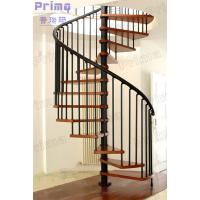 Quality Woonden Spiral Staircase Wrought Iron Fence wholesale