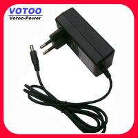 Quality Euro 12v / 2a Plug - In Switching Power Adapter For Cctv LED wholesale