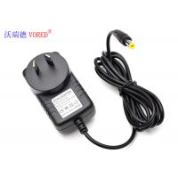 Quality AUS Plug Breast Pump Charger , RCM Approval 9V 1A AC To DC Plug Adapter wholesale