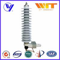 Cheap 36KV Medium Voltage Single Phase Surge Arrester For 10KA Transformer for sale