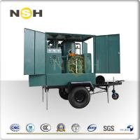 Quality Mobile Trailer Insulation Oil Purifier Transformer Oil Filtration Plant Trolley Mounted wholesale