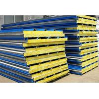 Quality 0.3 - 0.6mm Cold Room Panels , Easy Installation Metal Sandwich Panel Roof wholesale