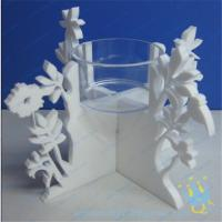 Quality CH (20) decorative candle holder tall Acrylic candle holder wholesale
