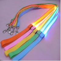 Quality Hot selling Retractable Led Pet Dog Harness dog Leash and Collar Set With Led Light wholesale