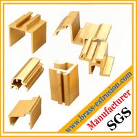 Quality decoration material brass extrusion sections wholesale