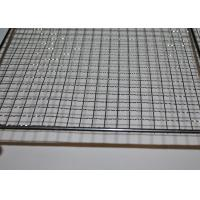 304 Stainless Steel Crimped Mesh Barbecue Grills Panels / Trays