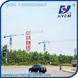 Quality Mobile Tower Crane Specification for QTP125(6016) 60m Jib Crane in Dubai wholesale