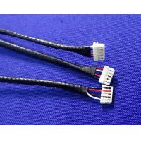 Quality Black Wire Harness Cable Assembly Equivalent Of JST 0.8mm Pitch Crimping Connector wholesale