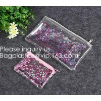 Quality Daily Used Products Packaging Eva Zipper School Bag,Eco-Friendly Soft Plastic Frosted Cosmetic EVA Zipper Bags, Bagease wholesale