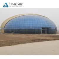 Buy cheap Prefabricated Steel Space Frame Structure Function Hall Design for Wedding from wholesalers