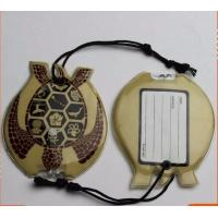 China Personalised Luggage Labels , Childrens Luggage Tags With Soft PVC Rubber Material on sale