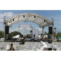 China Outdoor Event Aluminum Square Truss / Stage Roof Truss With Canopy on sale