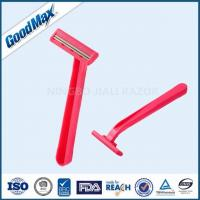 Quality No Electric Plastic Double Edge Razor With Fixed Head And Comfortable Plastic Handle wholesale