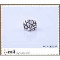 Quality OEM / ODM customed 316l stainless steel death's - head ring H-JK0037 wholesale