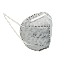 Quality Spunbond Non Woven KN90 Folding Respirator Outdoor Particle Filtering wholesale