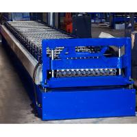 Quality Colored Steel Corrugated Roof Roll Forming Machine High Tensile Thin Barrel wholesale