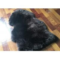 Quality Real Sheepskin Rug Long lambswool Double Pelts Sheep Skin Hides for hotel lobby wholesale