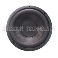 Quality 600W 10 Inch Car Audio Subwoofer Speakers Dual Voice Coil with carbon fiber wholesale