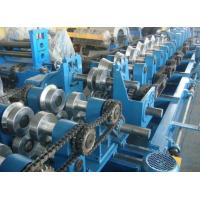 Quality Customized CZ Purlin Roll Forming Machine , Electric Fully Automatic C Purlin Machine wholesale