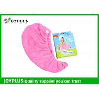 Quality Various Colors Hair Drying Towel Wrap , Quick Dry Hair Towels 250GSMg wholesale