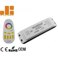China Remote Control LED Strip Light Controller , RGBW LED Controller With Group Dimming Function on sale