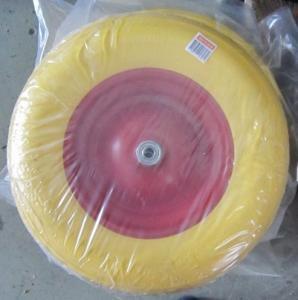 China Lauching Wheel Flat Free PU Foam Wheel 300-4 Lauching Trolley Wheel Flat Free PU Foam on sale