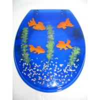 China SEA SERIES 17'18'19' COLOR POLY RESIN TOILET SEAT on sale