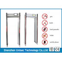 Quality Sensitivity Adjustable Door Frame Metal Detector 33 Zones For Exhibition wholesale