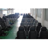 Quality Leather Motion Theater Chair With Leg Tickle / Water Spary Effects wholesale