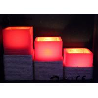 Quality Warm White Electric Led Candles Set Of 3 Paraffin Material EL-016 wholesale