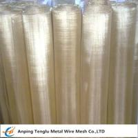Quality Brass Wire Mesh|Square or Rectangle Hole Made by 70 Brass for Filter Liquid wholesale
