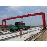 Quality Electric Box Single Girder Gantry Crane for Construction Sites with CD/MD hoist wholesale