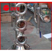 Quality Tri-Clamp Micro Copper Ethanol Distillation Column Sight Glass wholesale