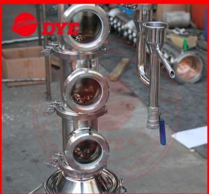 Quality Tri-Clamp Micro Copper Ethanol Distillation Column Sight Glass wholesale