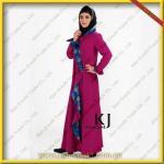 Quality 2012 New Design Baju Kurung Cotton Abaya for Women wholesale