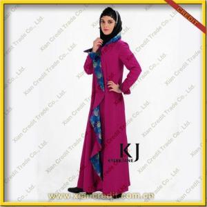 2012 New Design Baju Kurung Cotton Abaya for Women