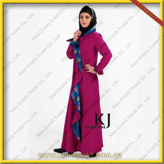 Cheap 2012 New Design Baju Kurung Cotton Abaya for Women for sale